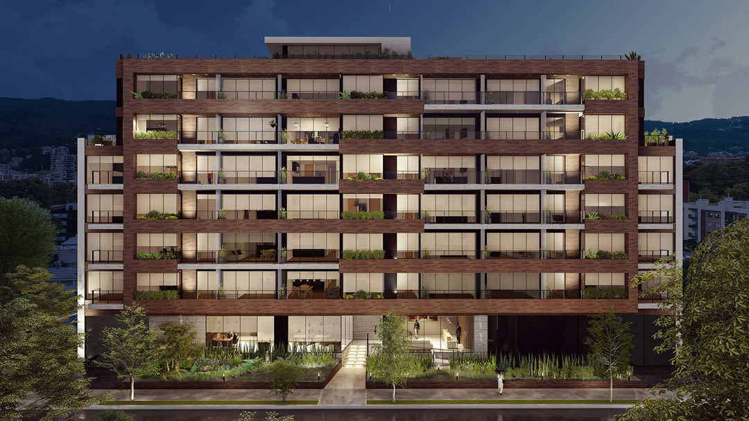 privatto-apartamentos-fachada-nocturna
